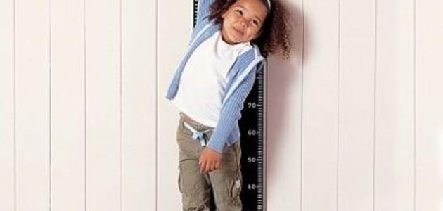 كيف يزداد طول الإنسان