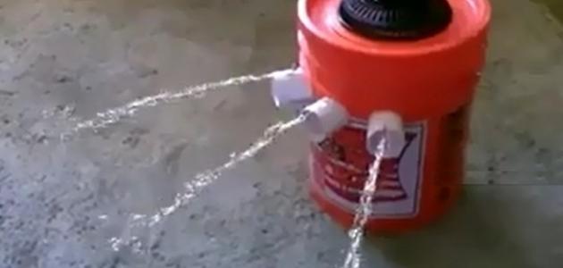 كيف تصنع مكيف هواء بارد بأدوات بسيطة جداً