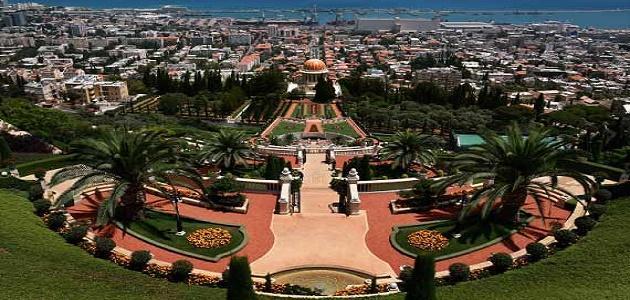 أين تقع مدينة حيفا