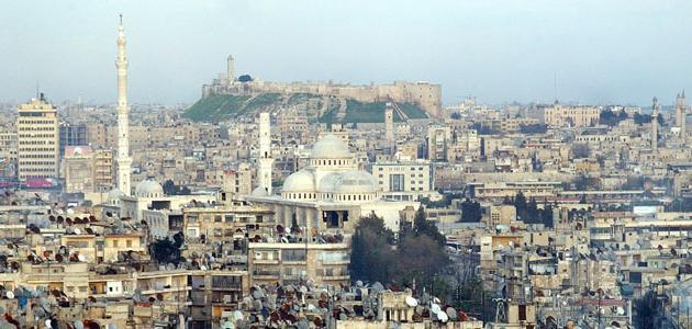 أين تقع مدينة حلب