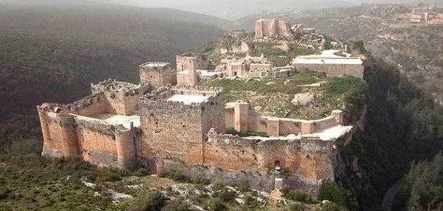أين توجد قلعة صلاح الدين الأيوبي