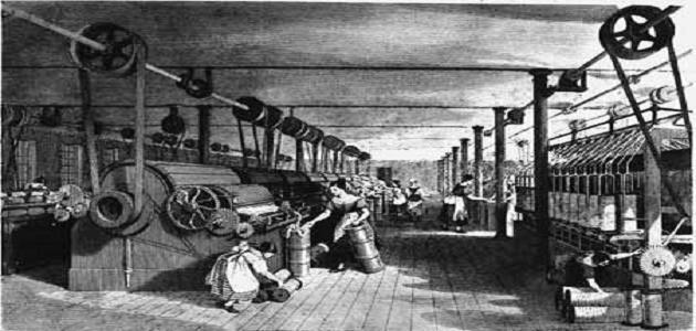 أين حدثت الثورة الصناعية