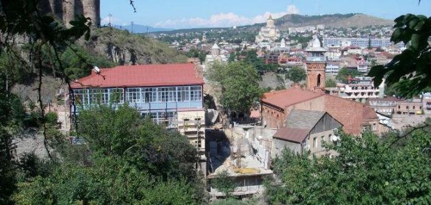 أين تقع مدينة تبليسي