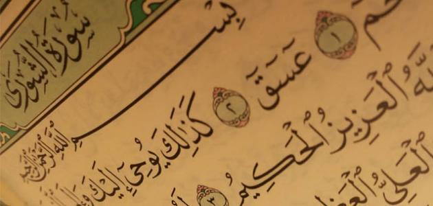 بحث عن سورة الشورى