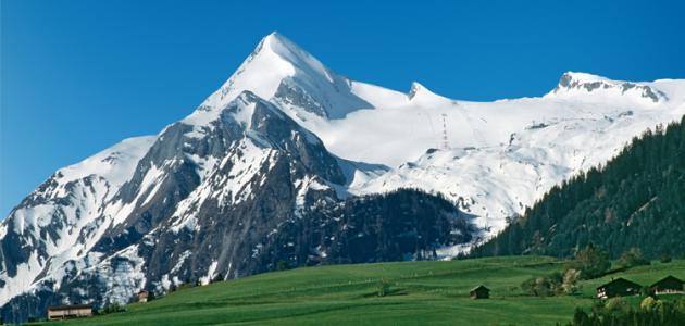 أين تقع جبال الألب في سويسرا