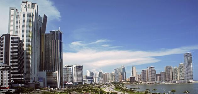 أين تقع مدينة بنما