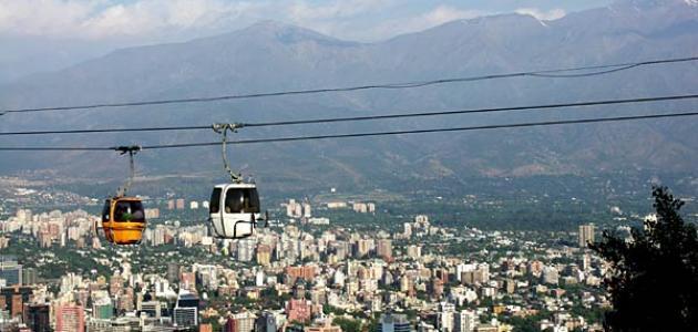 أين تقع مدينة تشيلي