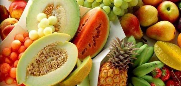 بحث عن فوائد الفواكه والخضروات