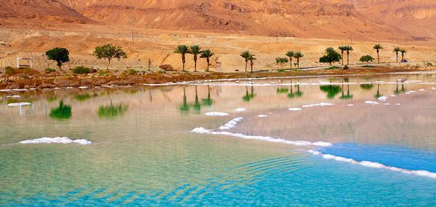 أين يقع البحر الميت ولماذا سمي بهذا الاسم