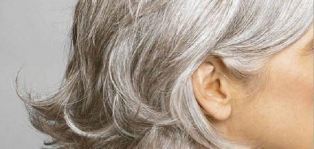 كيف نصبغ الشعر الأبيض
