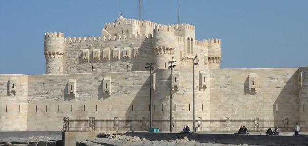 أين توجد قلعة قايتباي