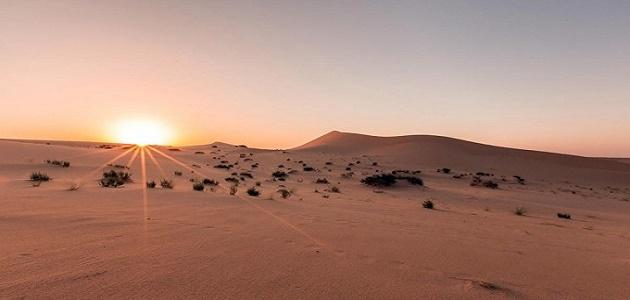 أين تقع صحراء النفود