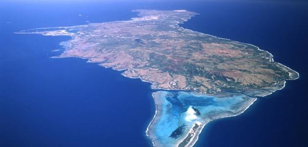 أين تقع جزر ماريانا