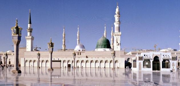 أين دفن سيدنا محمد