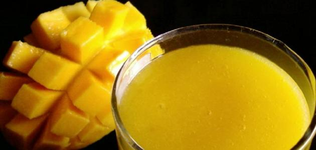 طريقة تحضير عصير المانجو