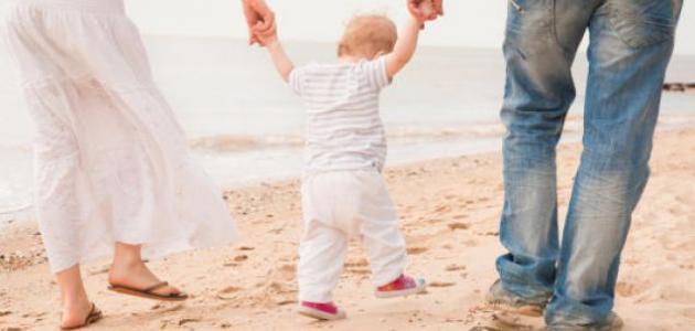 كيف يمشي الطفل بسرعة