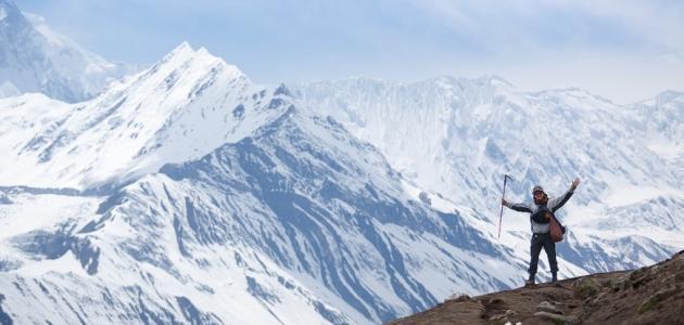 أين تقع جبال الهيمالايا