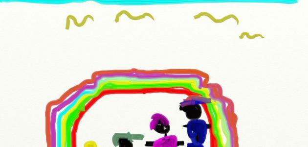 تحليل رسومات الأطفال نفسياً