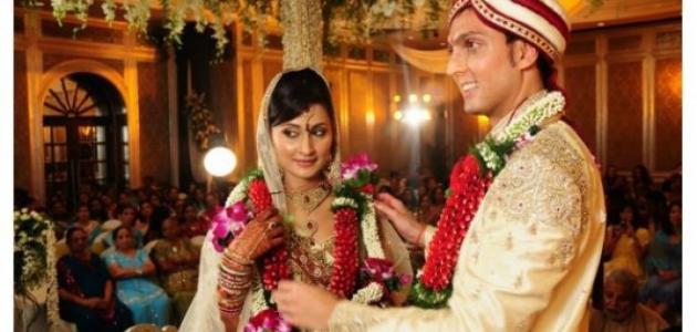 طريقة الزواج في الهند