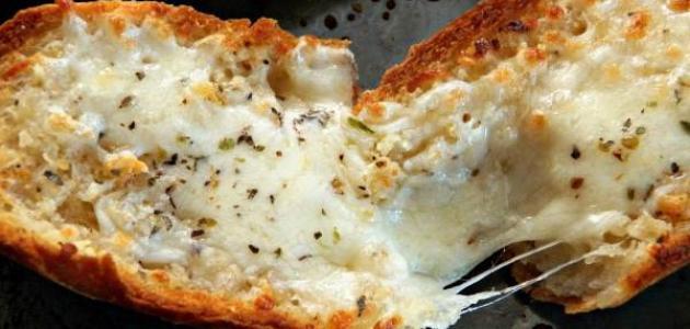 طريقة الخبز بالجبن