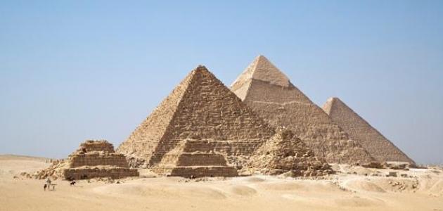 أين توجد الأهرامات في مصر