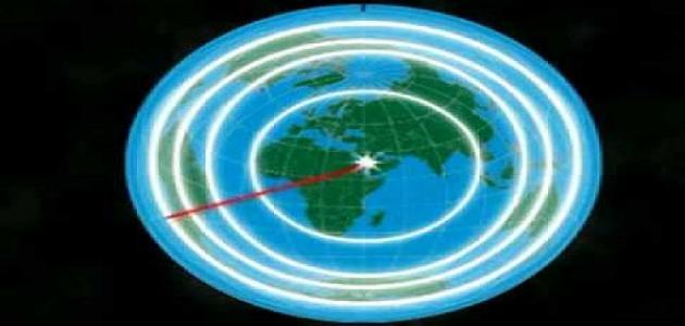 أين مركز الأرض