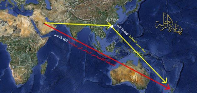 أين تقع نيوزيلندا على الخريطة