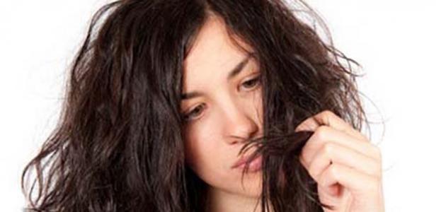 كيف أعالج شعري من التلف