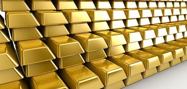 أين يتواجد الذهب