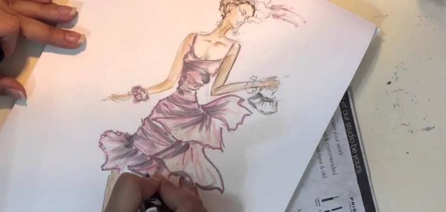 f0ff06b24681c كيف أتعلم رسم الأزياء - موضوع
