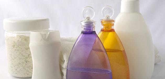 عمل صابون سائل للاستحمام