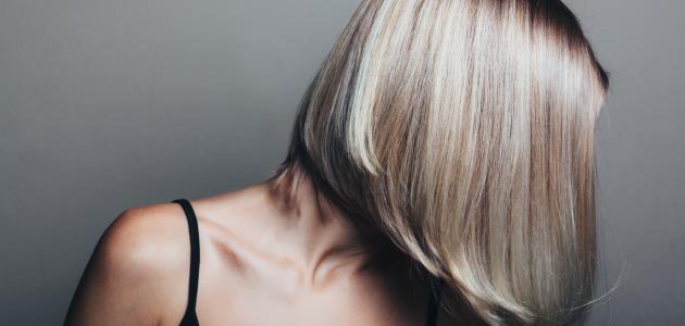 طريقة صبغ الشعر ثلجي بالبيت
