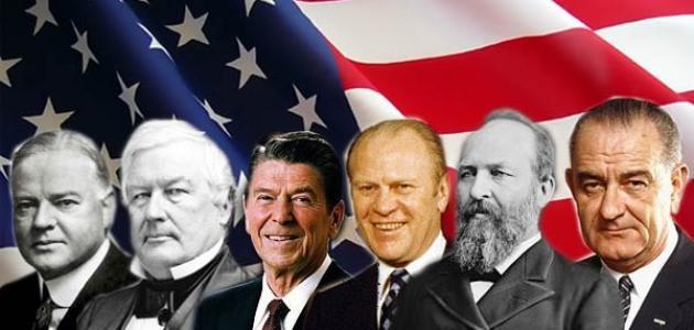 كم رئيس حكم أمريكا