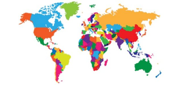 ترتيب الدول حسب المساحة