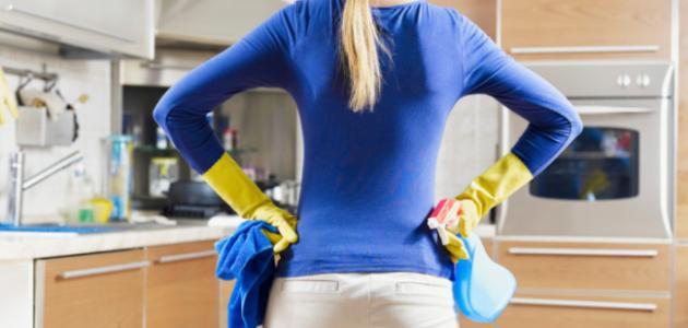 كيف أنظف سيراميك المطبخ