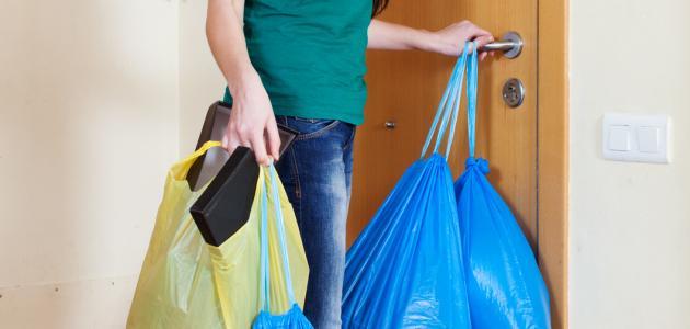 ترشيد التعامل مع النفايات المنزلية