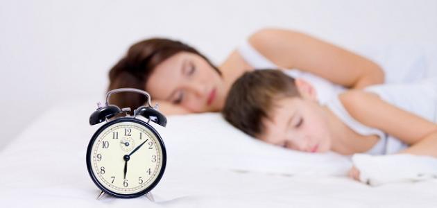 كيف أنظم وقت نومي