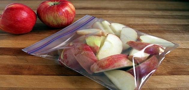 كيف نحافظ على الفواكه بعد تقطيعها