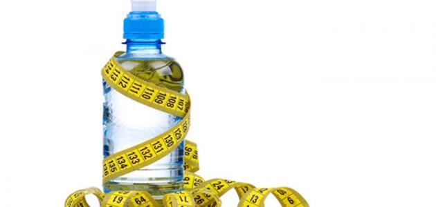 تخفيف الوزن بالماء