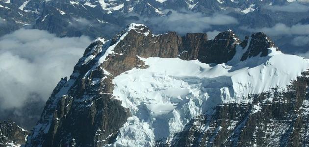 أين تقع سلسلة جبال الأنديز