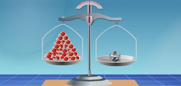 بحث عن قياس المادة