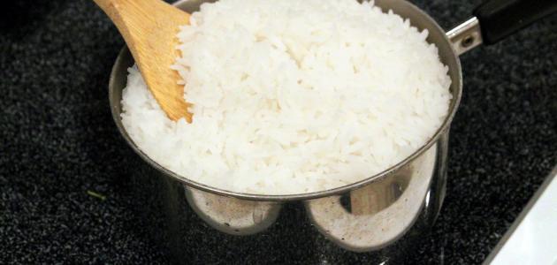 كيفية تحضير الأرز