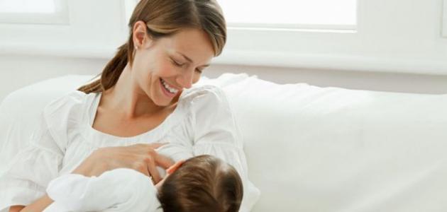 كيف يزيد حليب الأم المرضع