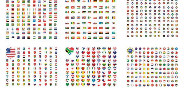 ترتيب دول العالم من حيث المساحة
