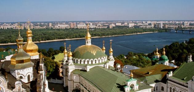أين تقع مدينة كييف