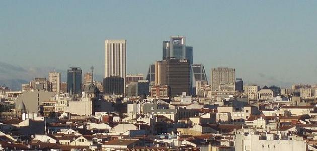 أين تقع مدينة مدريد