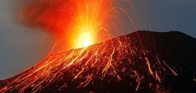أين حدث أعظم انفجار بركاني