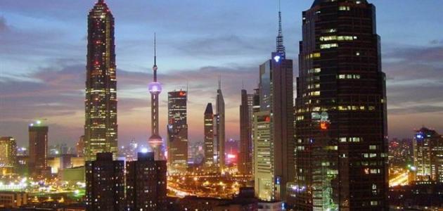 أين توجد مدينة شنغهاي