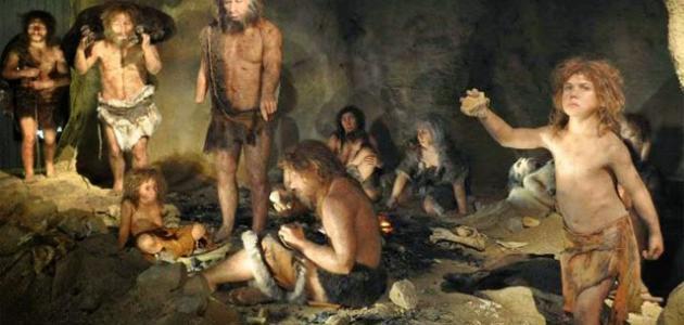كيف كان يعيش الإنسان البدائي