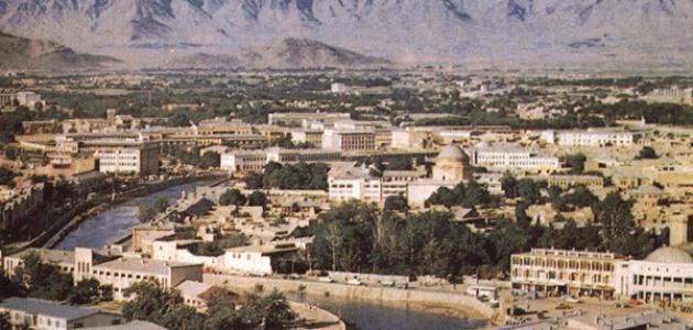 أين تقع مدينة كابول